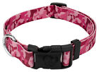 Country Brook Design® Pink Bone Camo Deluxe Dog Collar - Made in The U.S.A.