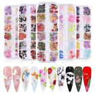 Laser Holographic 3D Butterfly Nail Art Sequins Flakes Glitter Foils 12 Colors