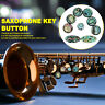 More images of 9pcs / set  Saxophone key buttons inlays keys Blue Turquoise Materials