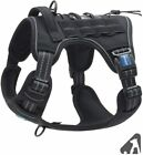 Brand New Auroth Adjustable Tactical Service Training Dog Harness Vest Nylon