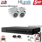 HIKVISION HILOOK 5MP CCTV HD NIGHT VISION OUTDOOR DVR HOME SECURITY SYSTEM KIT