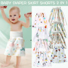 Comfy Children's Diaper Skirt Shorts Waterproof and Absorbent Shorts For Baby US