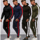 Men's Jogger Tracksuit 2 Piece Casual Pants Hooded Sweater Sport Hoodie Set