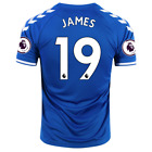 2020/21 Hummel Everton #19 James Rodriguez Home Soccer Jersey With EPL Patch image