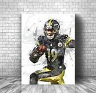 JuJu Smith-Schuster Poster,  Pittsburgh Steelers - Canvas Print