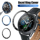 For Samsung Galaxy Watch 3 360°Seamless Stainless Steel Bezel Ring Case Cover US