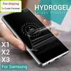 For Samsung Galaxy A20s A31 A41 A51 A71 5G Hydrogel Full Cover Screen Protector