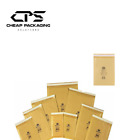 CPS Genuine Jiffy Bubble Padded Mailers Bags Envelopes - Gold - 50 Pack