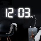 Anpro 3D Large LED Digital Wall Clock Date Time Celsius Nightlight Display Table