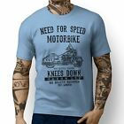 JL Speed Illustration For A Indian Chief Vintage Motorbike Fan T-shirt