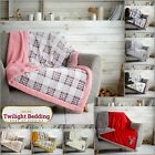 KING SIZE TEDDY BEAR FLEECE Sofa Throw Ultra Soft Large Bed Blanket & Bedspreads
