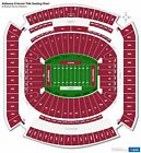2 Alabama Crimson Tide vs Kentucky Wildcats Tickets & Parking Pass