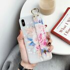 Hot Frosted Flower Bracket Women Girl Fashion Soft Case Cover For Various Phone