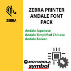 Zebra Printers Font Pack. Quick response with direct download link.