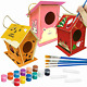 FuraHa DIY Bird House Kit for Kids, Birdhouse Kits for Kids to Build and Paint 3 photo