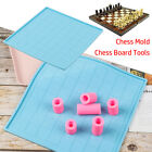 Crystal Glue DIY Resin Chess Board Tools Chessboard Mould Silicone Chess Mold