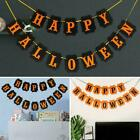 Halloween Bunting Spooky Decorations Party Banner Pumkin Hot Garland Y0O9