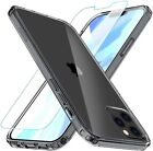NEW 2020 Apple iPhone 12 Pro Cover Case Screen Protector Tough Clear Shockproof