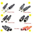 5pcs DC Plug/Male Female RCA Adaptor Jack Electrical Socket Outlet Power Adapter