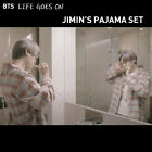BTS BE Life Goes On Jimink X Coral Plaid Pajama Set 100% Cotton+Free Tracking N.