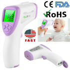 Forehead Thermometer Infrared FDA CE Digital No-Touch Kids Adult Body Fever Lot