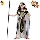 Boy's Ancient Egyptian Pharaoh Cosplay Costume for Party Egypt Priest Clothing