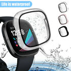 Watch Screen Protector Case Full Proctive Cover for Fitbit Versa3/Sense Series