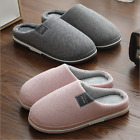 Unisex Home Anti-slip Shoes Soft Winter Warm Sandal House Indoor Cotton Slippers