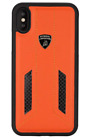 Lamborghini iPhone X/Xs Huracan-D6 Genuine Leather Carbon Back Сase Cover