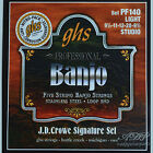 Strings GHS 5 Banjo Light American S. J.D.Crowe Signature Stainless Close-Out