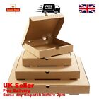 CHEAP Plain Brown Pizza Boxes 7-18 Inch Strong Quality Takeaway Postal Boxes