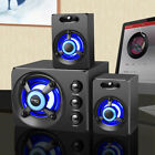 SADA USB Wired Computer Speakers Bass Stereo Music Player Subwoofer for PC E0Q9