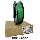 3D Printer Filament PLA 250 grams, 1.75mm Roll, 7 DIFFERENT COLORS TO CHOOSE