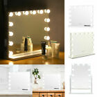 Large Hollywood Led Vanity Makeup Mirror Light 14/12 Bulbs Dressing Table White