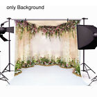 Home Photography Background Vinyl Studio Props Flowers Wall Wedding Decoration 2