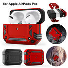For Apple Air Pods Pro Case Cover Skin Slim Rugged Armor Heavy Duty Shockproof