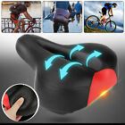 Comfort Soft Bike Saddle Cushion Wide Big Bum Bicycle Seat Air Cruiser Pad Cover