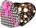 Gourmet Valentines Chocolates Heart Box by It's Delish Great Valentines Day Gift