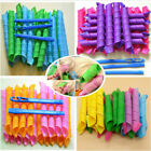 36p Magic Long Hair Ringlets Curlers Curl Formers Bendy Spiral Rollers Tool Hook