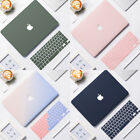 Rubberized Matte Case Cover For New MacBook Air Pro Retina  Silicone KB Cover