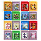 Pokem Gold Silver Yellow Red Blue Green Crystal Grape Cock..... Gameboy GBC USA