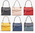 BRINKLEY Quilted Small Tote Handbag With Chain Crossbody Bag NWT VG787178