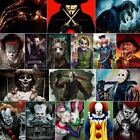 Diamond Painting Clown Smile Full Drill Mosaic Embroidery Horror Movie Scary Kit