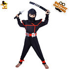 Carnival Party Boys Cosplay Cool Ninja Costume Kids Ninja Cosplay Suit for Party