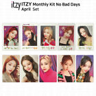 ITZY No Bad Days Monthly Kit  April Official Photocard & Exclusive Polaroid KPOP