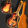 More images of Yamaha AE-12 Electric Guitar 1973 Vintage Sunburst MIJ F-hole w /  Hard Case JP