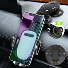360° Universal Cell Phone Car Mount Holder Dashboard Stand Cradle w/Suction Cup