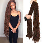 "36"" Goddess Soft Faux Locs Crochet Hair Soft Locs Synthetic Hair Extensions"