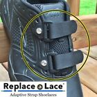 Replace-A-Lace No-Tie Adaptive Straps to Replace Shoelaces Pack of 4 XX Large
