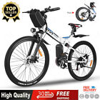 26'' Electric Bike Mountain Bicycle City Folding Ebike 21Speed350W Battery+NO.1